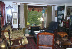 Huntington Beach Cottage - Living Room - RENTED