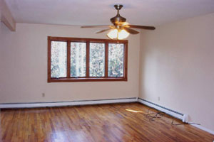 East Northport Second Floor Apartment - Living Room - RENTED
