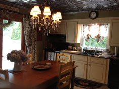 South Huntington Ranch - New Kitchen with Tin Ceiling - SOLD