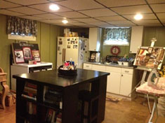 South Huntington Ranch - Fully Finished Basement with Summer Kitchen - SOLD